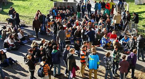 Protest gegen Abschiebung von Schüler Geworg