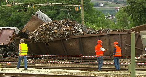 Defekte Waggons der ÖBB in Südtirol bzw. Brixen
