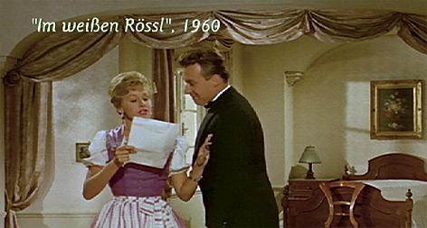 Im weißen Rössl am Wolfgangsee - Verfilmung von 1960 mit Peter Alexander und Waltraud Haas
