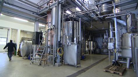 Rum-Produktion in Krobotek