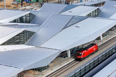 Hauptbahnhof neu in Wien