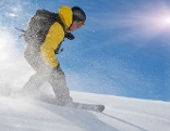 Snowboard, Symbolbild