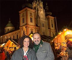 Barbara Wussow und Johann Lafer in Mariazell