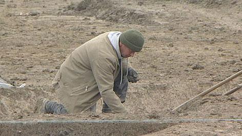 Ausgrabungen bei S7