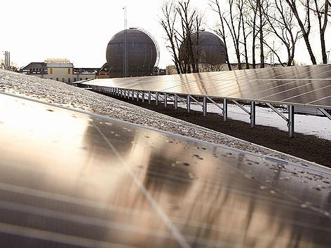 BürgerInnen Solarkraftwerk in Wien-Leopoldau
