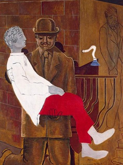 Max Ernst: Piet oder die Revolution bei Nacht, 1923, Öl auf Leinwand