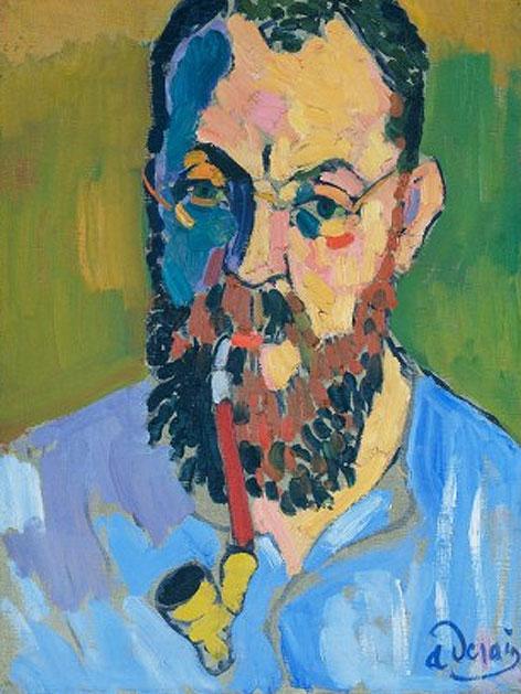 Andre Derain: Porträt des Henri Matisse, 1905, Öl auf Leinwand