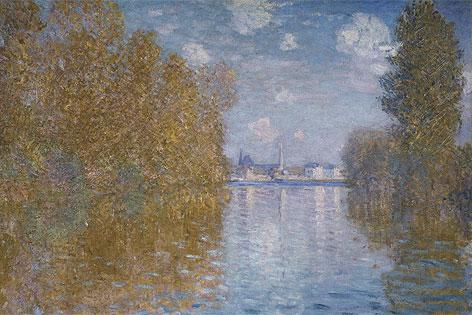Claude Monet: Herbststimmung in Argenteuil, 1873