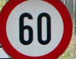 Tempolimit 60 km/h