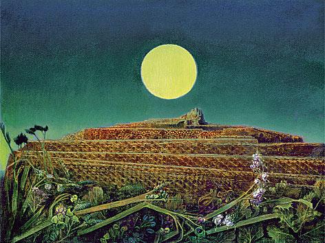"""Das Gemälde """"Die ganze Stadt"""" von Max Ernst"""