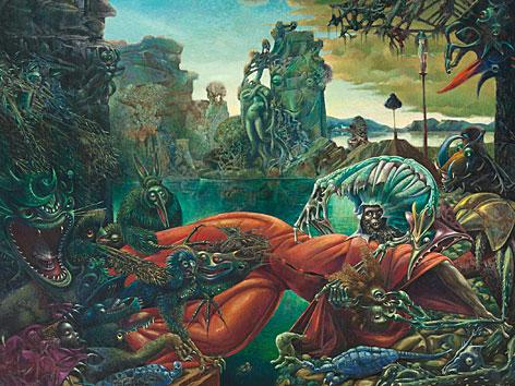 Max Ernst: Die Versuchung des heiligen Antonius