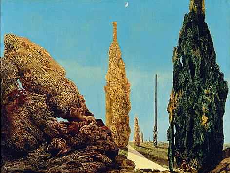 Max Ernst: Lediger Baum und vermählte Bäume
