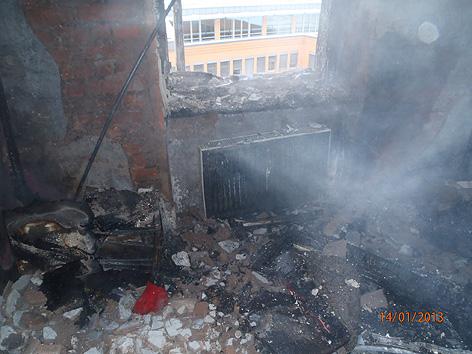 Wohnungsbrand Graz