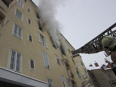 Wohnungsbrand, Graz