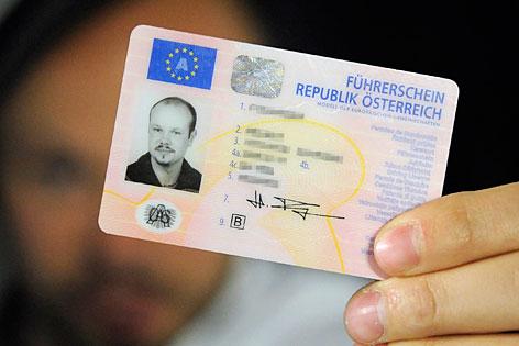 EU-Scheckkarten-Führerschein