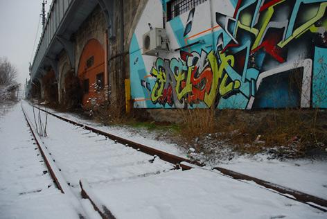 Schlachthof-Gleis in Innsbruck