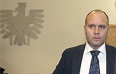Kurt Scheuch beim Prozess in Leoben