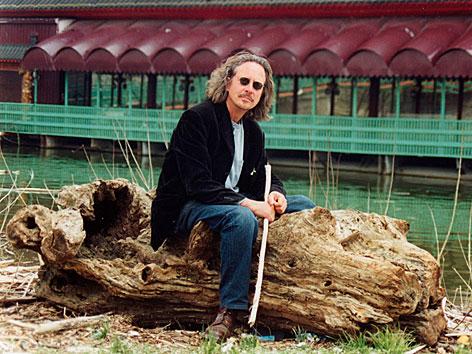 Peter Handke während der Jugoslawien-Reise 1999