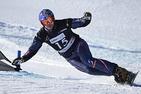 Benjamin Karl bei der Snowboard-WM 2013, Riesenslalom-Qualifikation