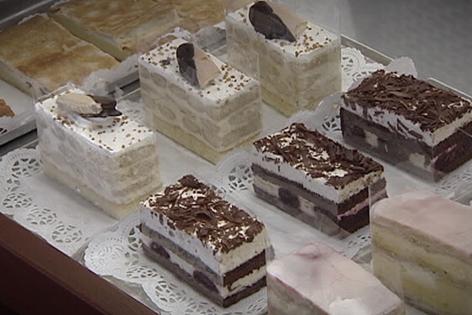 Kuchen- und Tortenstücke