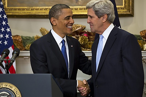 Barack Obama und John Kerry