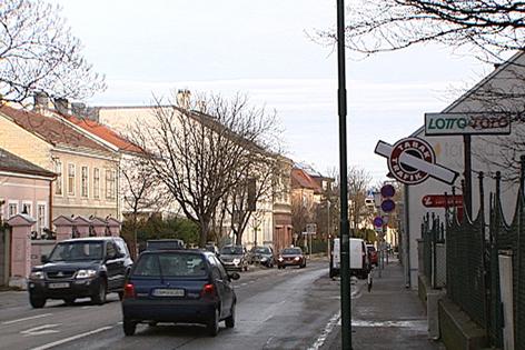 Friedrich Schiller Straße in Mödling