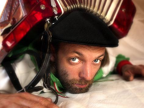 Der österreichische Musiker Florian Zack