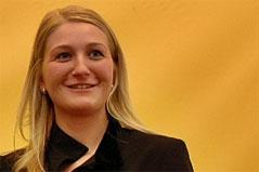 Kathrin Kaltenhauser, Leiterin Tiroler Jungbauernschaft, VP-Kandidatin für Landtagswahl 2013
