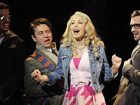 Szene aus dem Musical Natürlich Blond