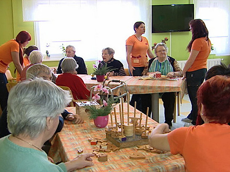 Pflegeschülerinnen Auslandspraktikum Slowenien