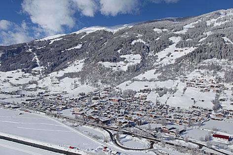 Bramberg im Winter
