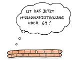Karikatur mit zwei Regenwürmern: Ist das jetzt Missionarsstellung oder 69?
