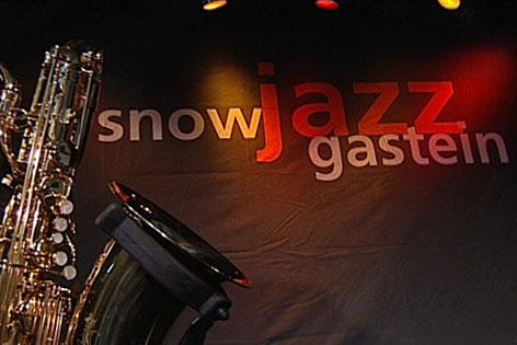 Saxophon und Snow Jazz Gastein