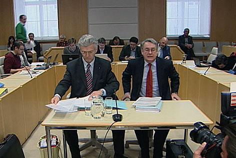 Eduard Paulus im Finanzskandal-Untersuchungsausschuss