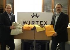 Klaus Robl und Rudolf Strobl, neuer Geschäftsführer von Wirtex