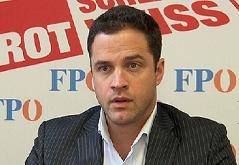 FPÖ-Klubchef Johann Gudenus
