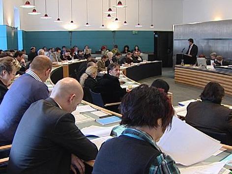 Sitzung Stadtsenat Klagenfurt