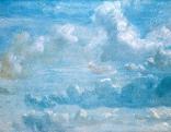 Wolkenstudie von John Constable, 1822