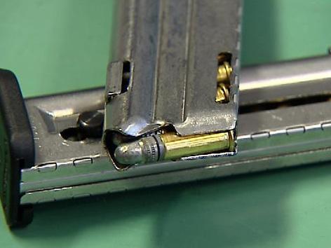 Konfiszierte Waffe HTL Ferlach