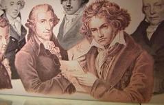 """Exponate der Sonderausstellung """"Haydn und Beethoven"""""""