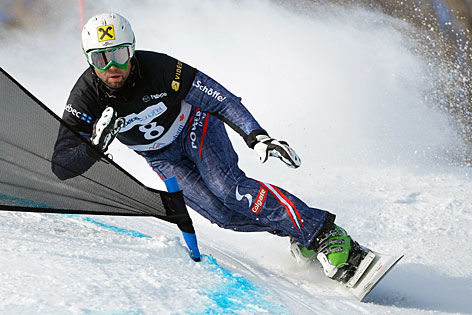 Snowboarder Andreas Prommegger