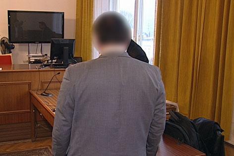 Der 52-Jährige bei dem Prozess in Salzburg