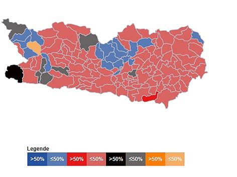 Bezirke Wahl