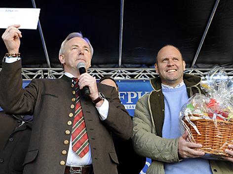 Landeshauptmann Gerhard Dörfler und Kurt Scheuch