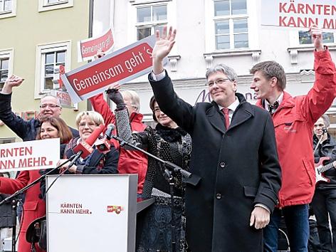 SPÖ Wahlkampffinale in Villach