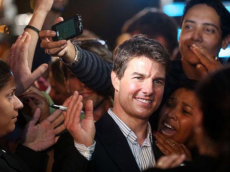 Tom Cruise Fanzone Fur Filmpremiere Wien Orf At