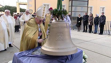 Glockenweihe in Eisenstadt