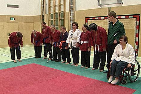 Judo für Behinderte