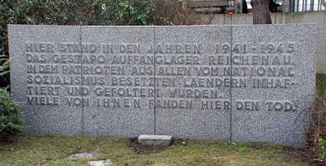 Gedenkstein Rossau