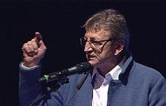 Karl Schnell FPÖ Landesparteichef bei Wahlkampfstart im Stieglkeller